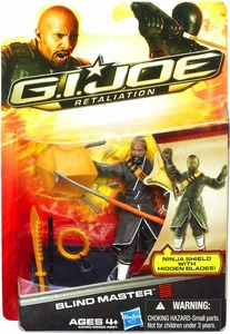 GI Joe Retaliation Movie 3.75 Inch Action Figure Blind Master