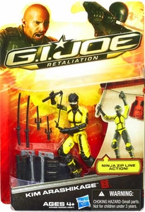 GI Joe Retaliation Movie 3.75 Inch Action Figure Kim Arashikage [Agent Jinx]