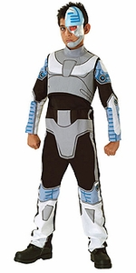 Comic Book Super Heroes Kids Costume #18042 Teen Titans Cyborg [Child]