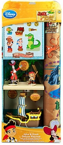 Disney Jake & the Never Land Pirates Deluxe Playset Jake & Hook Play Mat & Ship