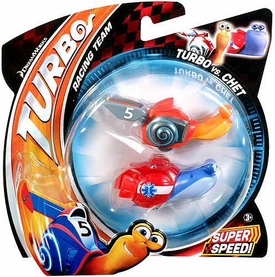 Turbo Movie Vehicle 2-Pack Turbo vs Chet