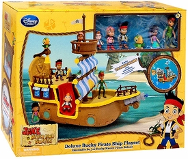 Disney Exclusive Jake & the Never Land Pirates Deluxe Bucky Pirate Ship Playset