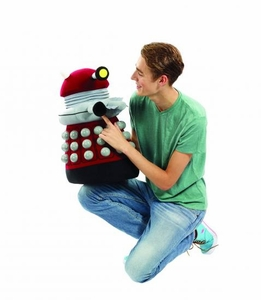 Doctor Who 24 Inch Talking Plush Burgundy Dalek  Pre-Order ships March