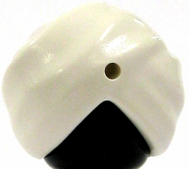 LEGO LOOSE Headgear White Turban [Version 1]
