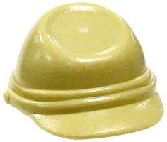 LEGO City LOOSE Accessory Tan Kepi Hat