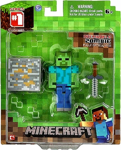 Minecraft Core Action Figure with Accessory Zombie Hot!