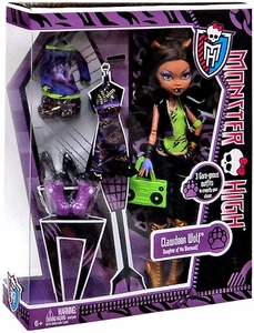 Monster High I Love Fashion DELUXE Doll Clawdeen Wolf