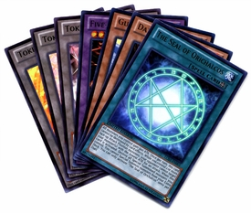 YuGiOh Legendary Collection 3 Single Card Ultra Rare Set of 7 Ultra Rare Cards