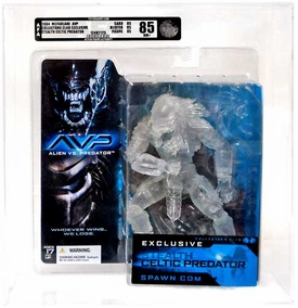 McFarlane Toys Club Exclusive Action Figure Celtic Stealth Predator [AFA Graded 85]