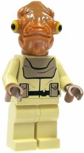 LEGO Star Wars LOOSE Mini Figure Mon Calimari Officer