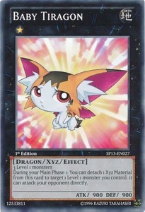 YuGiOh Star Pack 2013 Single Card SP13-EN027 Baby Tiragon