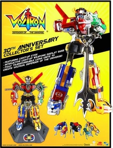 Voltron Defender of the Universe Lion Force Action Figure 30th Anniversary Collector's Set Pre-Order ships October