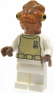 LEGO Star Wars LOOSE Mini Figure Admiral Akbar