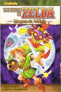 Legend of Zelda Manga Majora's Mask