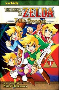 The Legend of Zelda Four Swords Part 1 Volume 6