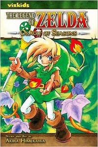 Legend of Zelda Manga Oracle of Seasons Volume 4