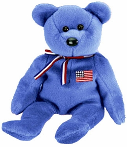 Ty Beanie Baby America the Bear