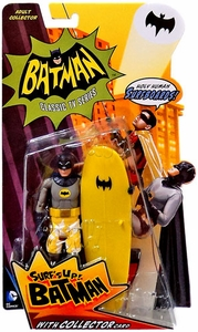 Mattel Batman 1966 TV Classics Series 2 Action Figure Surf's Up Batman