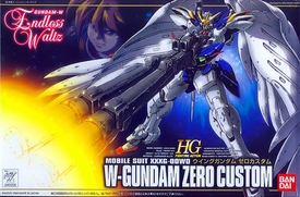 Gundam High Grade (HG) Fighting Action Endless Waltz 1/144 Model Kit EW-01 Gundam Zero Custom