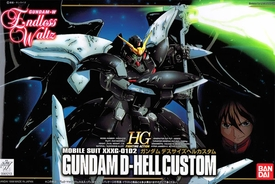 Gundam High Grade (HG) Fighting Action Endless Waltz 1/144 Model Kit EW-05 Gundam D-Hell Custom