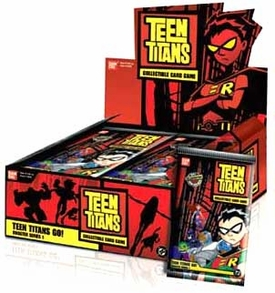 Teen Titans Collectible Card Game Teen Titans Go! Booster BOX [24 Packs]
