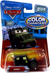 Disney / Pixar CARS Movie 1:55 Color Changers Sarge