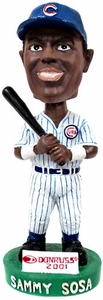 MLB  Chicago Cubs Bobble Head Sammy Sosa Damaged Package, Mint Contents!