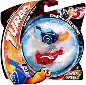 Turbo Movie Vehicle 2-Pack Turbo vs Fire Engine