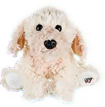 Webkinz Plush Blonde Cockapoo