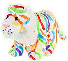 Webkinz Plush Colorsplash Tiger