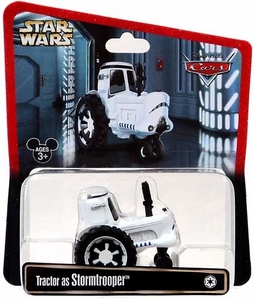 Disney / Pixar CARS Star Wars Exclusive 1:55 Die Cast Car Tractor as Stormtrooper