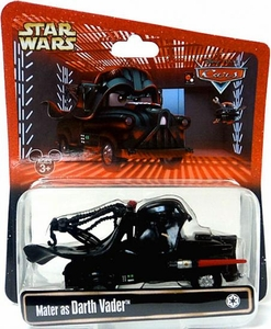 Disney / Pixar CARS Star Wars Exclusive 1:55 Die Cast Car Mater as Darth Vader