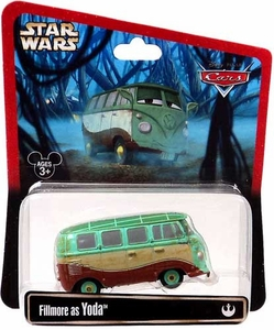 Disney / Pixar CARS Star Wars Exclusive 1:55 Die Cast Car Fillmore as Yoda