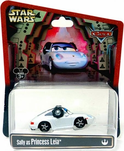 Disney / Pixar CARS Star Wars Exclusive 1:55 Die Cast Car Sally as Princess Leia
