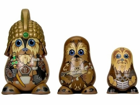 Star Wars 30th Anniversary Wookies Chubby Doll