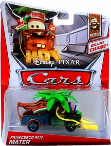 Disney / Pixar CARS Movie 1:55 Die Cast Car Deluxe Francesco Fan Mater [Maters 5/6]