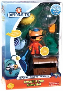 Fisher Price Octonauts Rescue 2-Pack Kwazii & The Slime Eel