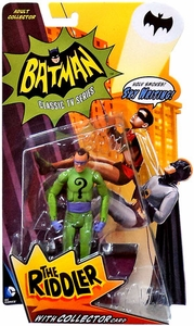 Mattel Batman 1966 TV Classics Series 1 Action Figure Riddler