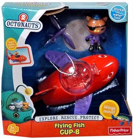 Fisher Price Octonauts Mission Vehicle Playset Flying Fish GUP-B
