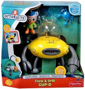 Fisher Price Octonauts Mission Vehicle Playset Claw & Drill GUP-D