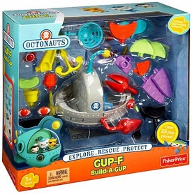 Fisher Price Octonauts Mission Vehicle Playset GUP-F Build-a-GUP