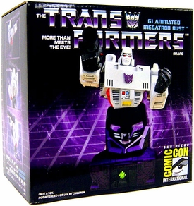 Transformers 2009 SDCC San Diego Comic-Con Exclusive Bust G1 Megatron
