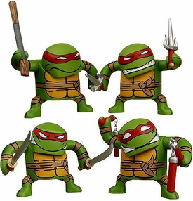 NECA Teenage Mutant Ninja Turtles Series 1 Set of 4 Batsu Figures