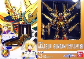 Gundam Bandai High Complete Model Progressive 1/200 Scale Super-Poseable Action Figure #42-00 HCM Pro Akatsuki Gundam
