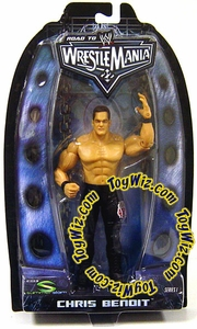 WWE Summer Slam Road to Wrestlemania 22 Series 1 Action Figure Chris Benoit
