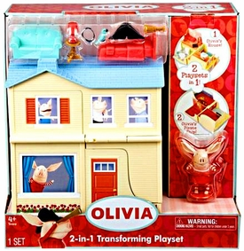 Olivia 2-In-1 Transforming Playset Olivia's House & Pirate Ship