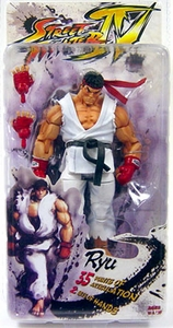 Street Fighter IV NECA Series 1 Player Select Action Figure Ryu