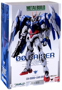 00 Gundam Metal Build Exclusive 1/100 Scale Deluxe Action FIgure 00 Raiser [Special Marking Version]