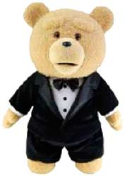 Ted Movie 24 Inch JUMBO Limited Edition Plush Figure with Sound Ted in Tuxedo [Actual Life Size in Movie!] Only 2,500 Made!