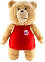 Ted Movie 24 Inch JUMBO Plush Figure with Sound Ted in Apron [Actual Life Size in Movie!]